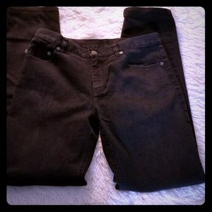 Vintage Ralph Lauren Jeans Co. Black sz 8